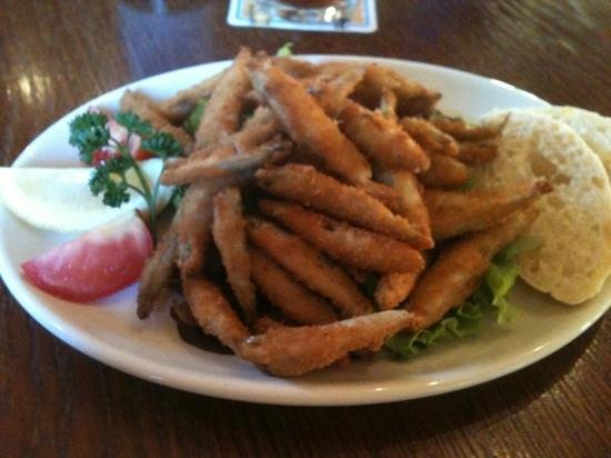 Radstock Hotel: Whitebait starter, a meal on its own.