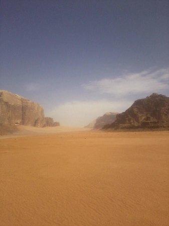 Jabal Rum Camp : Amazing view , Wadi Rum