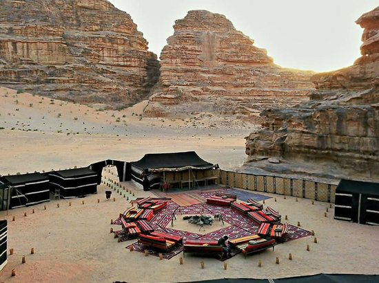 Jabal Rum Camp: A private camp in the deep of the desert