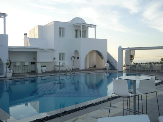 Rocabella Santorini Hotel & Spa : Bar de l'hôtel