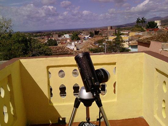 Hostal Trinidad Maria Guadalupe: TELESCOPE