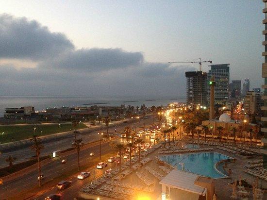 Dan Panorama Tel Aviv: Blick aus unserem Zi im 8. Stock