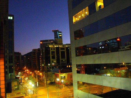 Hotel Neruda Express: Vista do nosso apartamento