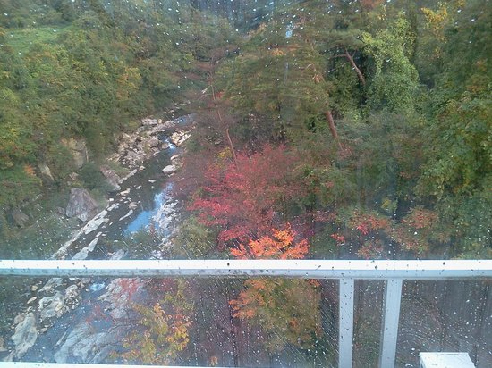 Yoshikawaya: Balcony in front of valley