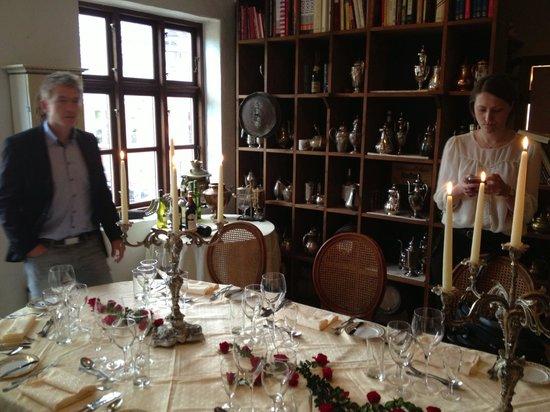 Restaurant Merlot: Enestående atmosfære