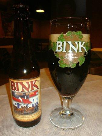 TNT Pub Pizzeria: Birra belga Bink