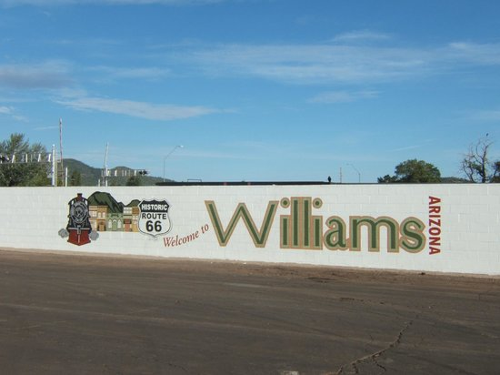 Downtown Williams Historic Walk: Sign