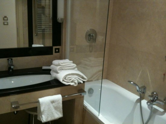 Palatino Grand Hotel Rome: The bathroom