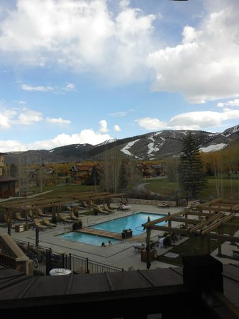 Hotel Park City, Autograph Collection : View from my balcony