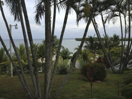 Turquoise Bay Dive & Beach Resort: view of ocean from hotel