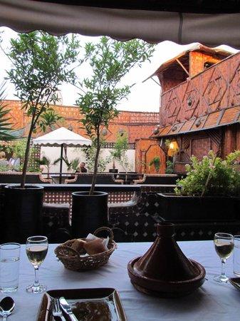 Riad Dar Najat : La terrasse!