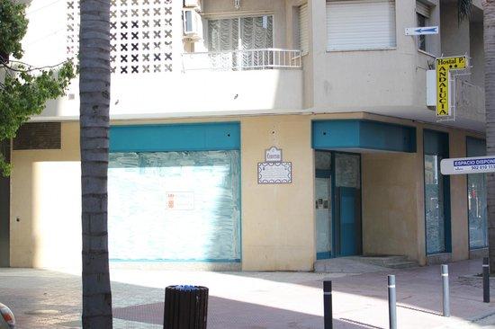 Hostal Andalucia: avenida donde nos ubicamos