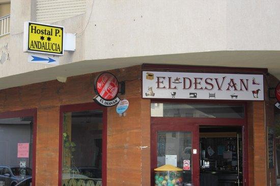 Hostal Andalucia: calle donde nos ubicamos