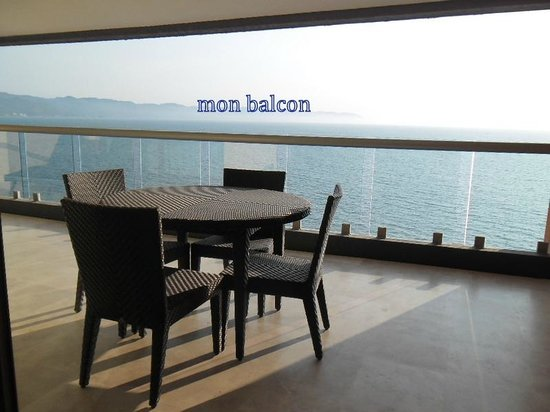 Sunset Plaza Beach Resort & Spa : balcon2