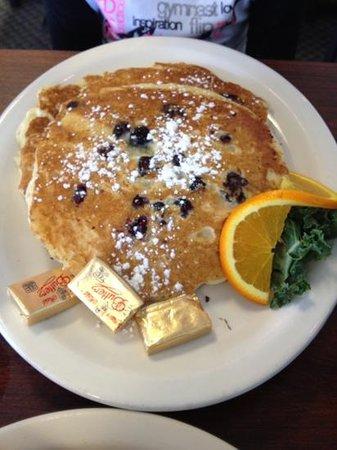Key West Cafe: Blueberry pancakes