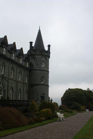 Inveraray Castle, view from the garden