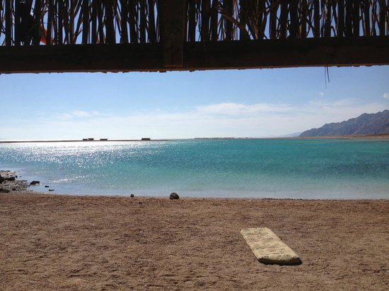 The Bedouin Moon Hotel: blue lagoon secret kitesurf spot