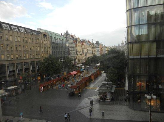 Prague Inn: piazza venceslao