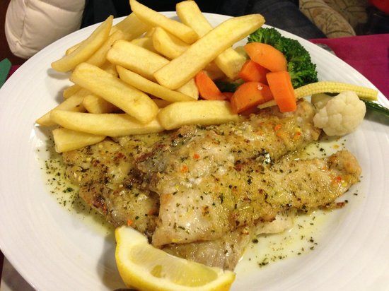 Blakes of Dover Restaurant: Dover sole