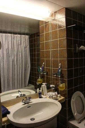 Maritim Hotel Bad Salzuflen: Immaculate Brown Bathroom