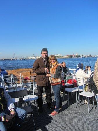 Shorex.RU Private Shore Day Excursions : Paseo en barco por los canales
