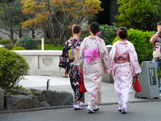 Shibuya Tokyu REI Hotel : passeggiata nel parco