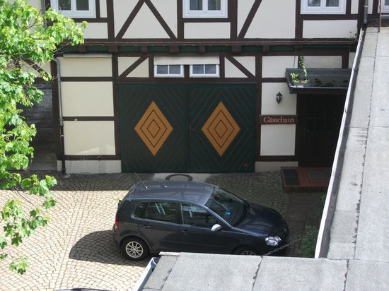 Hotel Goldene Krone: Innenhof