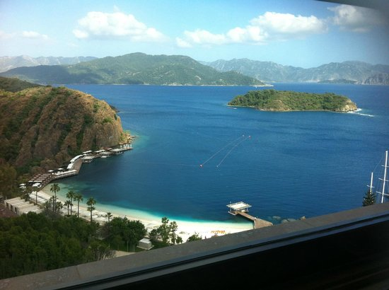 D Maris Bay : view from executiv club lounge