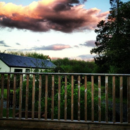 Loch Lomond Hideaways: decking