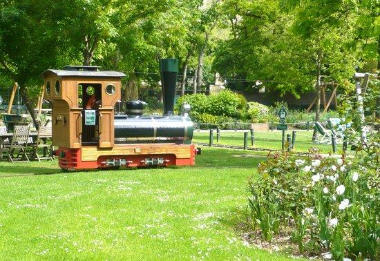 Petit train picture of jardin d 39 acclimatation paris for Jardin d acclimatation