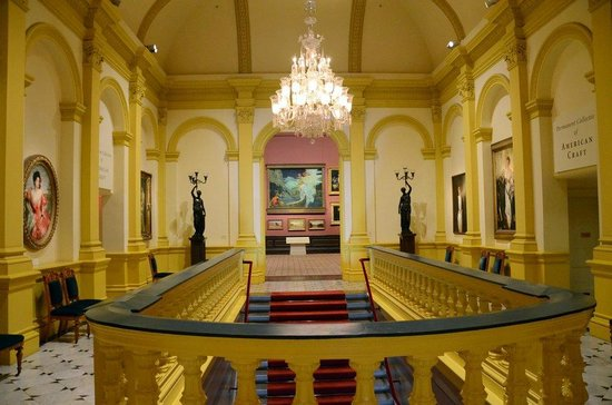 Renwick Gallery: Grand Hall upstairs