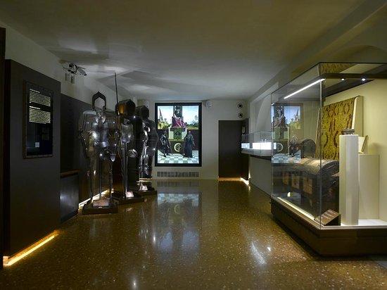 Museo Casa di Giorgione: Prima sala piano terra