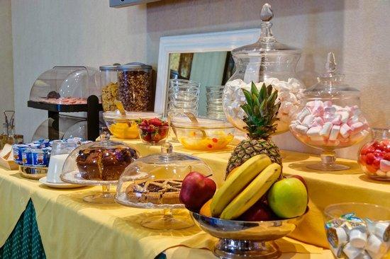 buffet breakfast best western hotel riviera fiumicino roma