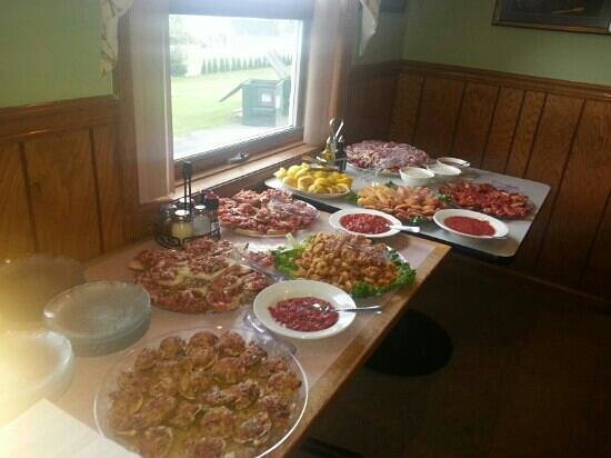 Bruno Scipioni's Italian : appitizers for a party last nite