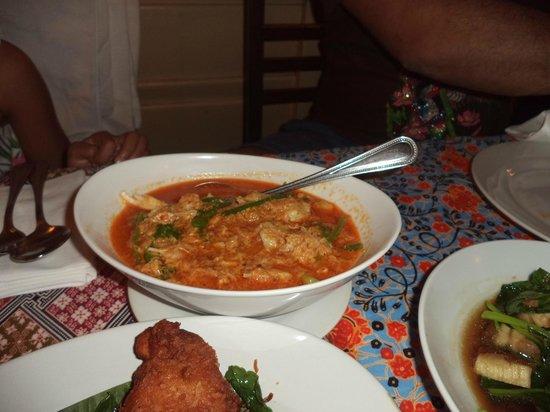 Ban Chiang : Crab Curry