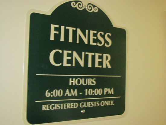 Dollinger's Inn & Suites: Our fitness center is open!