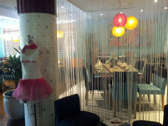 Pelican Hotel: Dining/reception area