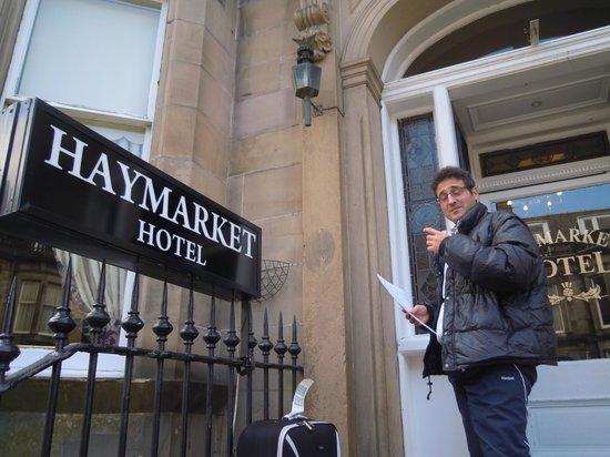 Haymarket Hotel: ingresso