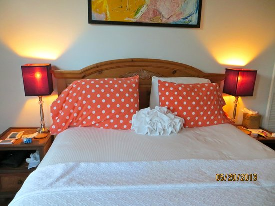 Key West Bed and Breakfast: Cozy bed