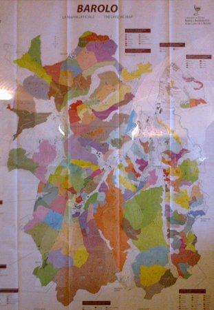 Banca del Vino: L'area del Barolo