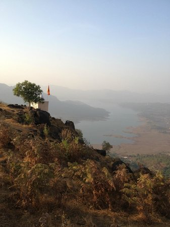 KARE Ayurveda & Yoga Retreat: view from the hill