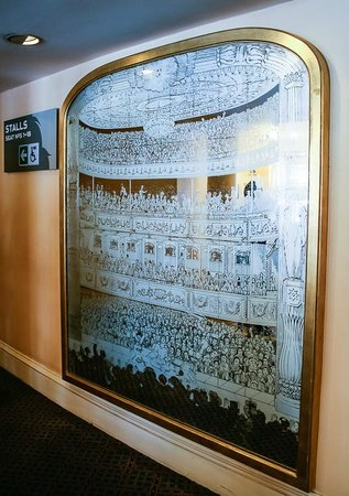 The Old Vic : Mirror in Foyer