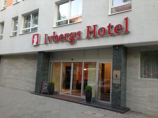 Ivbergs Hotel Charlottenburg : Hoteleingang