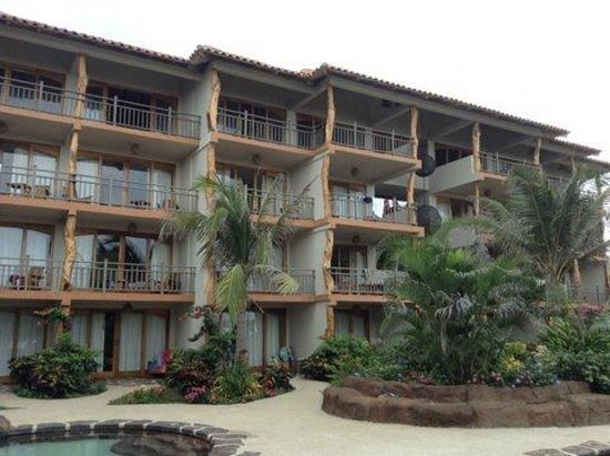 Canoa Beach Hotel: View from the pool