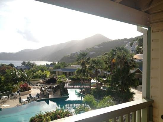 Long Bay Beach Club: view from my room