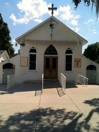 Tarpon Springs, FL: Front of the Chapel