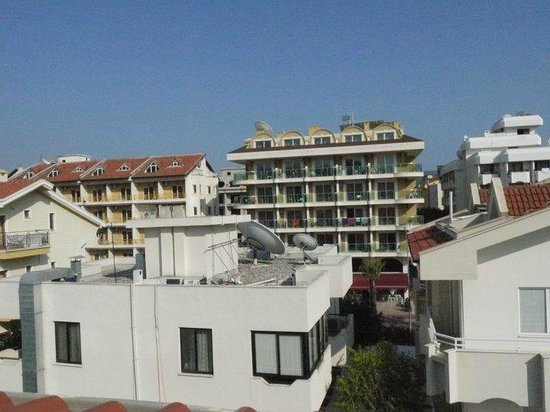 Ayhan Apartments: View Of Balcony