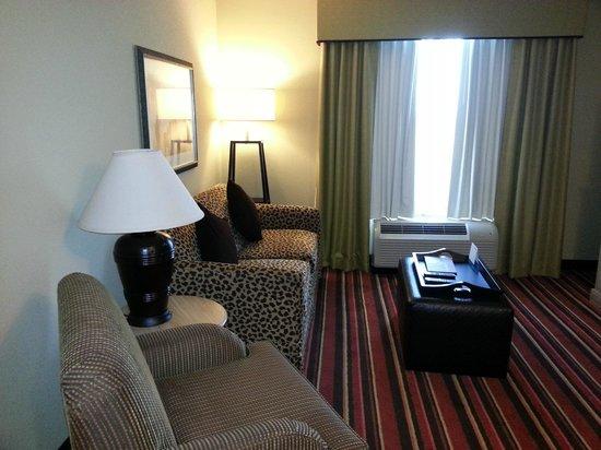 Homewood Suites by Hilton Austin / Round Rock: Living area