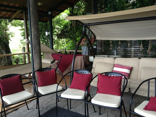 Altura Hotel: mirador y zona de descanso