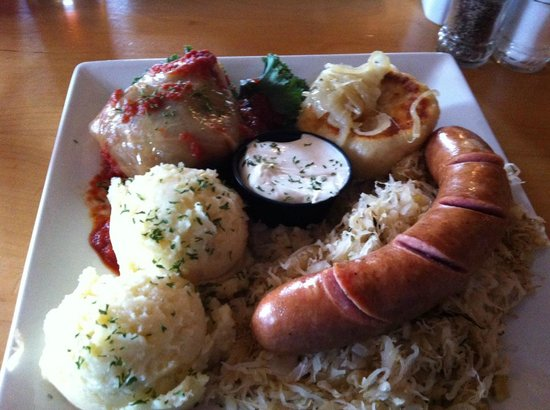 Wilno Tavern Restaurant: Hearty Polish Platter